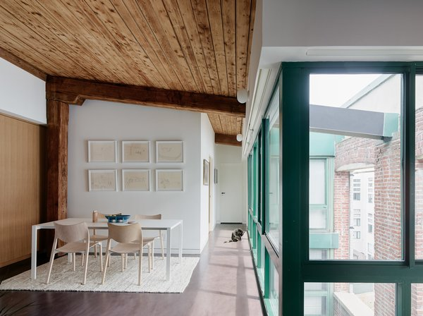 Modern home with living room. Living area Photo 7 of Gowanus Loft