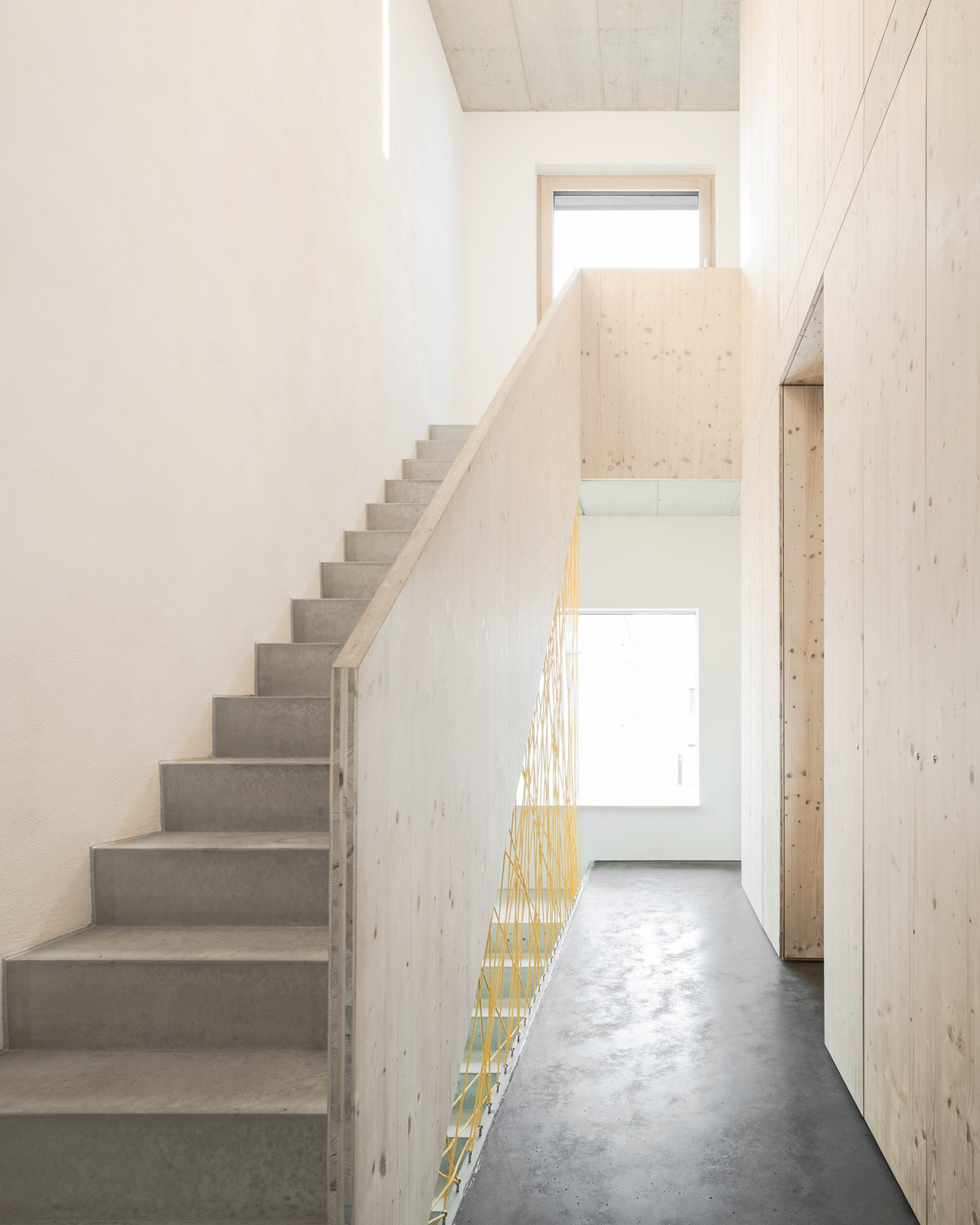 Staircase Tagged: Staircase and Concrete Tread.  Haus B by Leibal