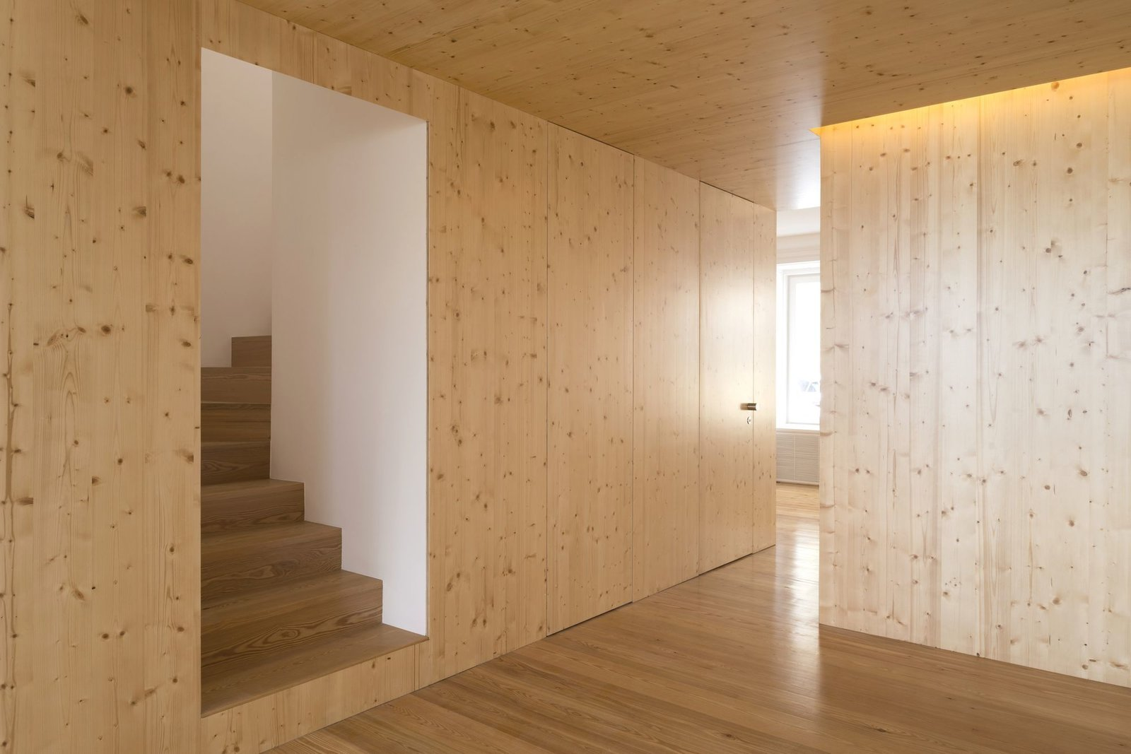 Tagged: Staircase and Wood Tread.  Tap Building by Leibal