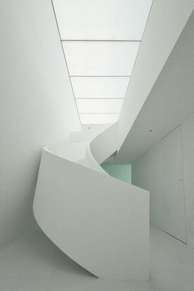 Modern home with staircase. Photo 13 of Seaside House
