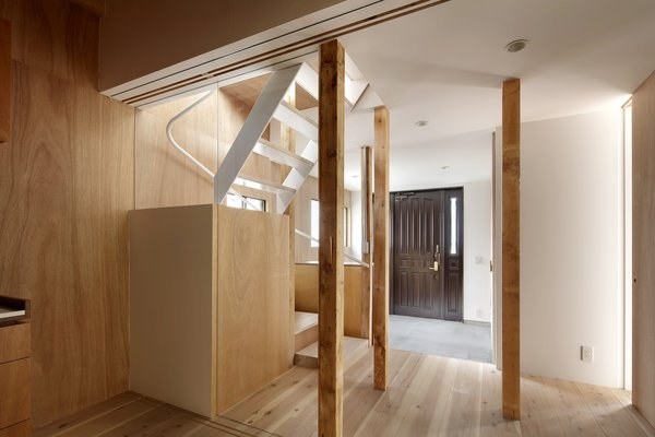 Modern home with staircase. Photo 7 of House for Four Generations