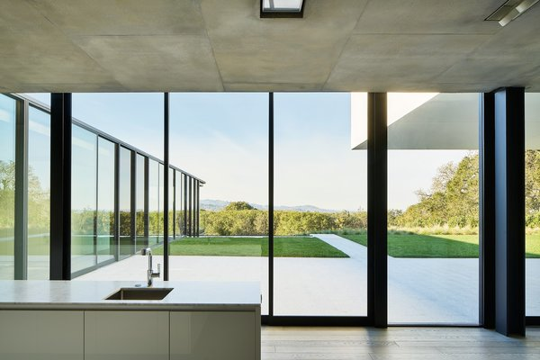 Modern home with kitchen. Photo 9 of OZ Residence