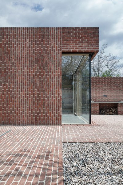 Photo 9 of Brick Garden with Brick House modern home