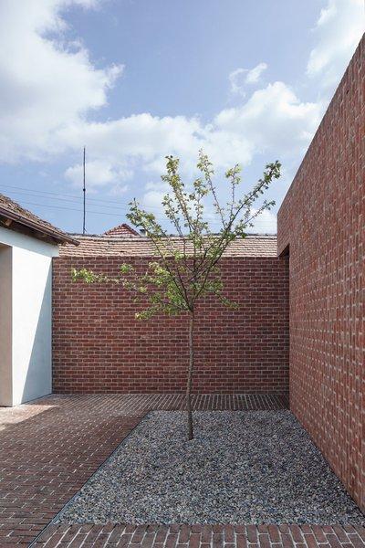 Photo 12 of Brick Garden with Brick House modern home