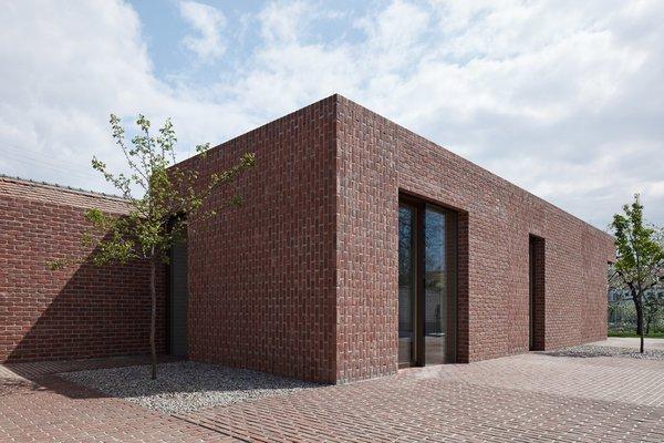 Photo 13 of Brick Garden with Brick House modern home