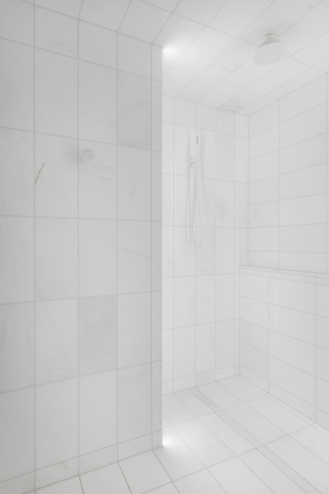 Tagged: Bath Room, Marble Floor, Open Shower, and Corner Shower.  IN 3 by Leibal