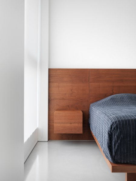 Modern home with bedroom and bed. Photo 6 of Element Apartment