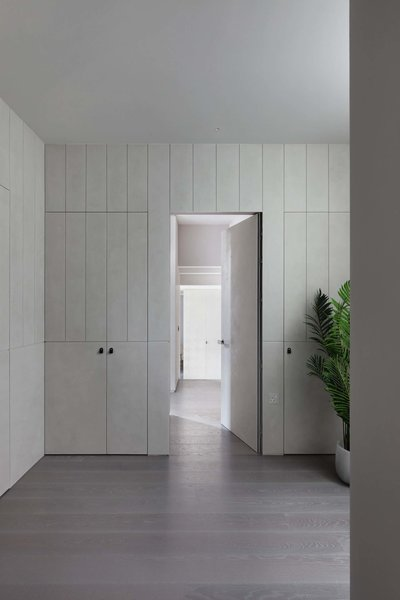Modern home with storage room and cabinet storage type. Photo 8 of Maida Vale Apartment