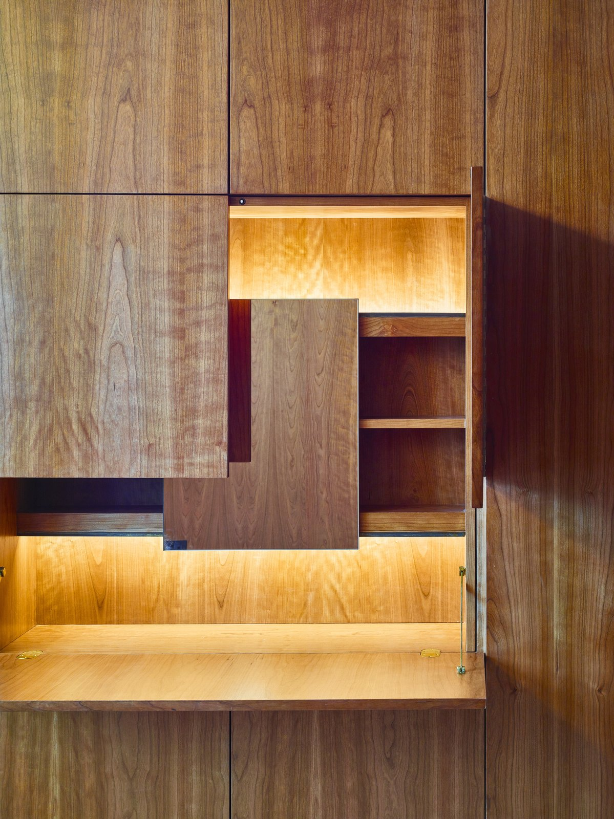 Tagged: Storage Room, Cabinet Storage Type, and Shelves Storage Type.  Caroline Place by Leibal