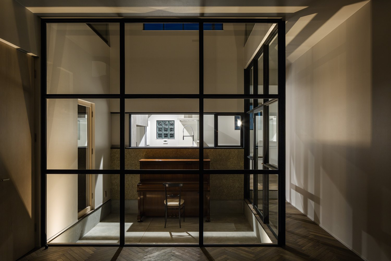 Tagged: Living Room, Chair, and Dark Hardwood Floor.  Residence in Takariya by Leibal