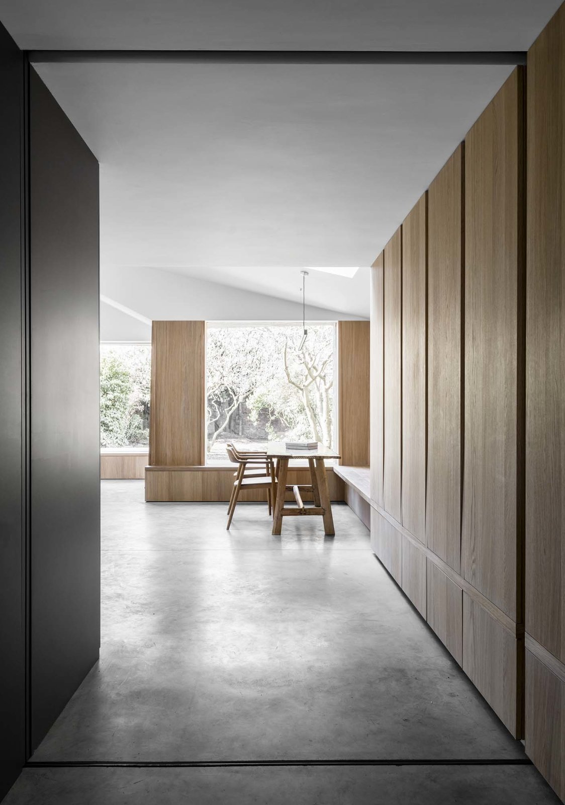 Tagged: Hallway and Concrete Floor.  Photo 5 of 5 in Top 4 Homes of the Week That Celebrate Earth Tones from Kew