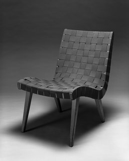 Knoll Inspiration:  In Conversation with  Helen Risom - Photo 1 of 8 - 660 Line Lounge Chair by Jens Risom, c. 1942. Image from the Knoll Archive.