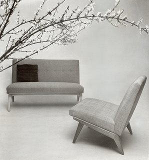 Knoll Inspiration:  In Conversation with  Helen Risom - Photo 7 of 8 - Jens Risom's early designs for Knoll, c. 1940s. Image from the Knoll Archive.