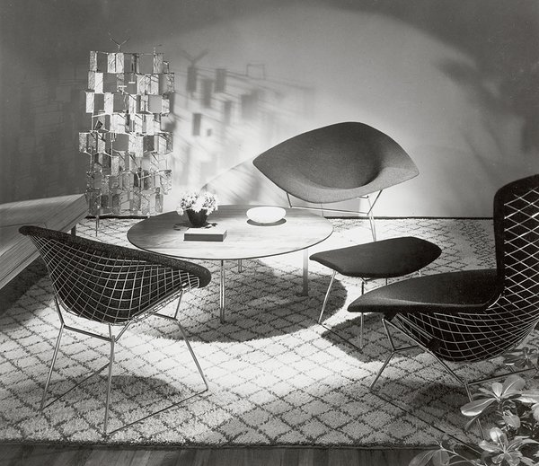 Making Bertoia - Photo 14 of 14 - The Bertoia Collection designed by Harry Bertoia, 1952. Image from the Knoll Archive.