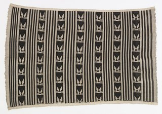 Knoll Inspiration: In Conversation with David Adjaye - Photo 2 of 6 - Women's wrapper from the Igbo peoples, Akwete, Nigeria, early to mid-20th century from David Adjaye Selects at the Cooper-Hewitt. Image courtesy of Cooper-Hewitt.