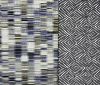 Aswan and Meroe upholstery from The Adjaye Collection for KnollTextiles. Photography by KnollTextiles.