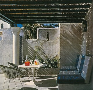 Yves Vidal: Knoll International - Photo 6 of 8 - Yves Vidal's York Castle in Tangiers, Morocco. Photograph from the Knoll Archive.