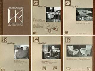 Knoll Inspiration: The Answer is Risom - Photo 4 of 9 - The original product catalogue for Hans G. Knoll Associates designed by Hans Knoll and Jens Risom, c. 1942. Image from the Knoll Archive.