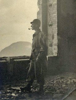 Knoll Inspiration: The Answer is Risom - Photo 7 of 9 - Jens Risom as a soldier during WWII, 1943. Image courtesy of Jens Risom.