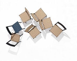 Knoll Inspiration: The Answer is Risom - Photo 9 of 9 - Risom Side Chairs. Photography by Ilan Rubin.