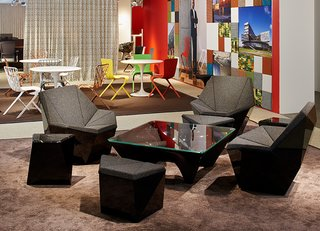 Prism™ and the remainder of The Washington Collection™ at NeoCon, 2015. Photograph by Knoll.