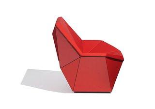 Prism™ Washington Lounge Chair by David Adjaye, 2015. Photograph by Knoll.
