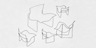 Knoll Inspiration: It Began With A Sketch - Photo 4 of 6 - Sketch for the Handkerchief Chair by Lella & Massimo Vignelli. Image form the Knoll Archives.