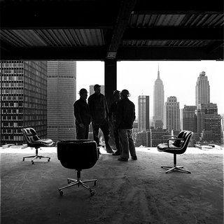 "Knoll Inspiration: In Conversation With Jon Naar - Photo 1 of 10 - Jon Naar's inaugural photograph for Knoll titled, ""Pollock Skyline,"" 1973."