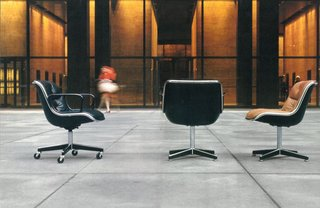 Knoll Inspiration: In Conversation With Jon Naar - Photo 2 of 10 - One of Jon Naar's photographs for The Pollock Chairs brochure, 1973.