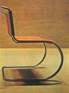 Knoll Inspiration: In Conversation With Jon Naar - Photo 7 of 10 - Ludwig Mies van der Rohe's MR Chair in the Seagrams Building, 1973.