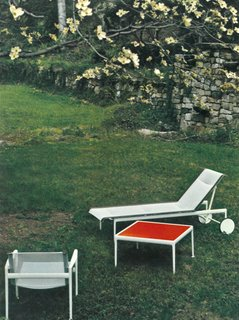Knoll Inspiration: In Conversation With Jon Naar - Photo 8 of 10 - Richard Schultz's Leisure Collection near Stamford, Connecticut, 1973.