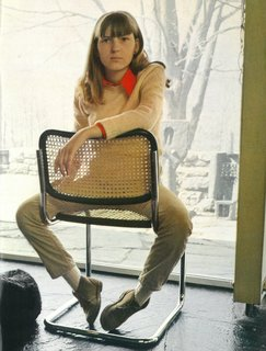 Knoll Inspiration: In Conversation With Jon Naar - Photo 9 of 10 - Francesca Breuer seated in her namesake chair, 1973.