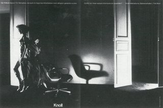 From the Knoll Archives: Wolf Kaiser - Photo 5 of 6 - Photograph by Guy Bourdin from the Knoll Archive.