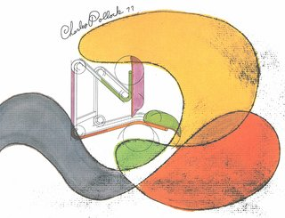 Knoll Inspiration: The Pollock Arm Chair - Photo 5 of 6 - Conceptual drawing for a chair design by Charles Pollock, 1977