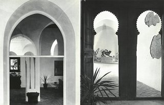 Morocco Modern - Photo 3 of 11 - Yves Vidal filled the rooms and courtyards of York Castle with artifacts of African, Middle Eastern, and Asian origin.