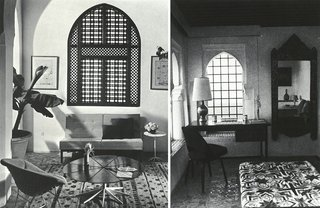 Morocco Modern - Photo 5 of 11 - In the bedrooms and lounge areas, modern furniture was keenly balanced with oriental art and design.