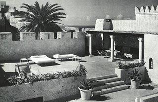 Morocco Modern - Photo 6 of 11 - The terraces of York Castle offered ample room for sunbathing and dining en plein soleil.
