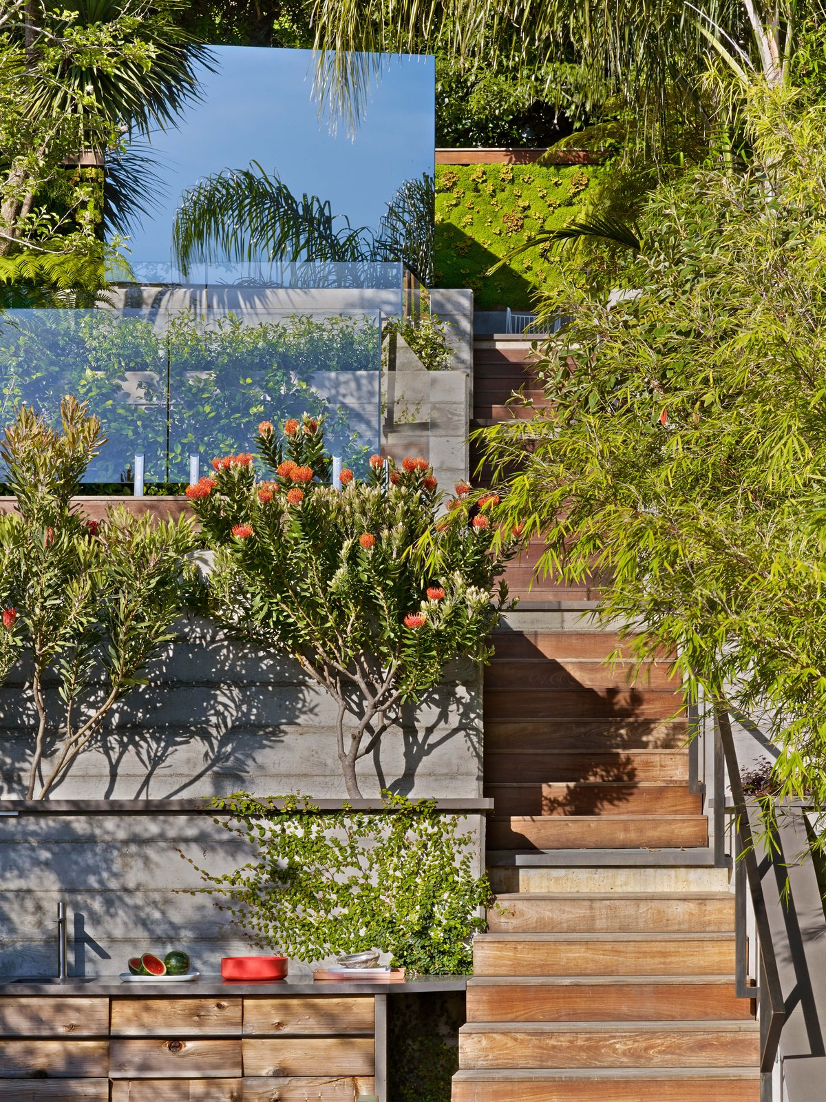 Tagged: Staircase, Wood Tread, and Metal Railing.  Glen Park Residence by CCS Architecture
