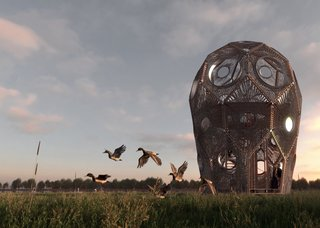 Bird-Watchers Will Be Flying High Once This Stunning Tower Is Complete
