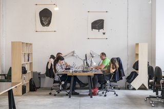 These 6 Collaborative Coworking Spaces Will Give you Serious Office Envy - Photo 5 of 10 - High ceilings and a ton of natural light make up Betahaus' winning recipe for a productive work environment.