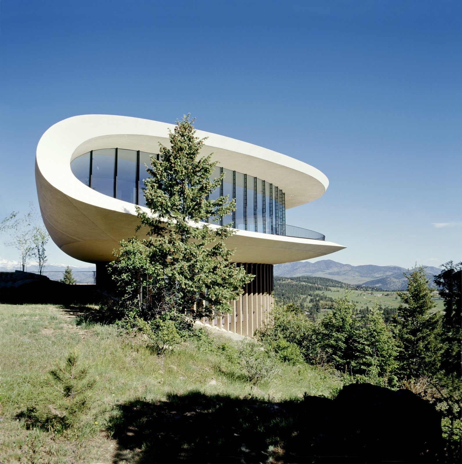Sleeper House, Genesee Mountain, CO - Charles Deaton 1963