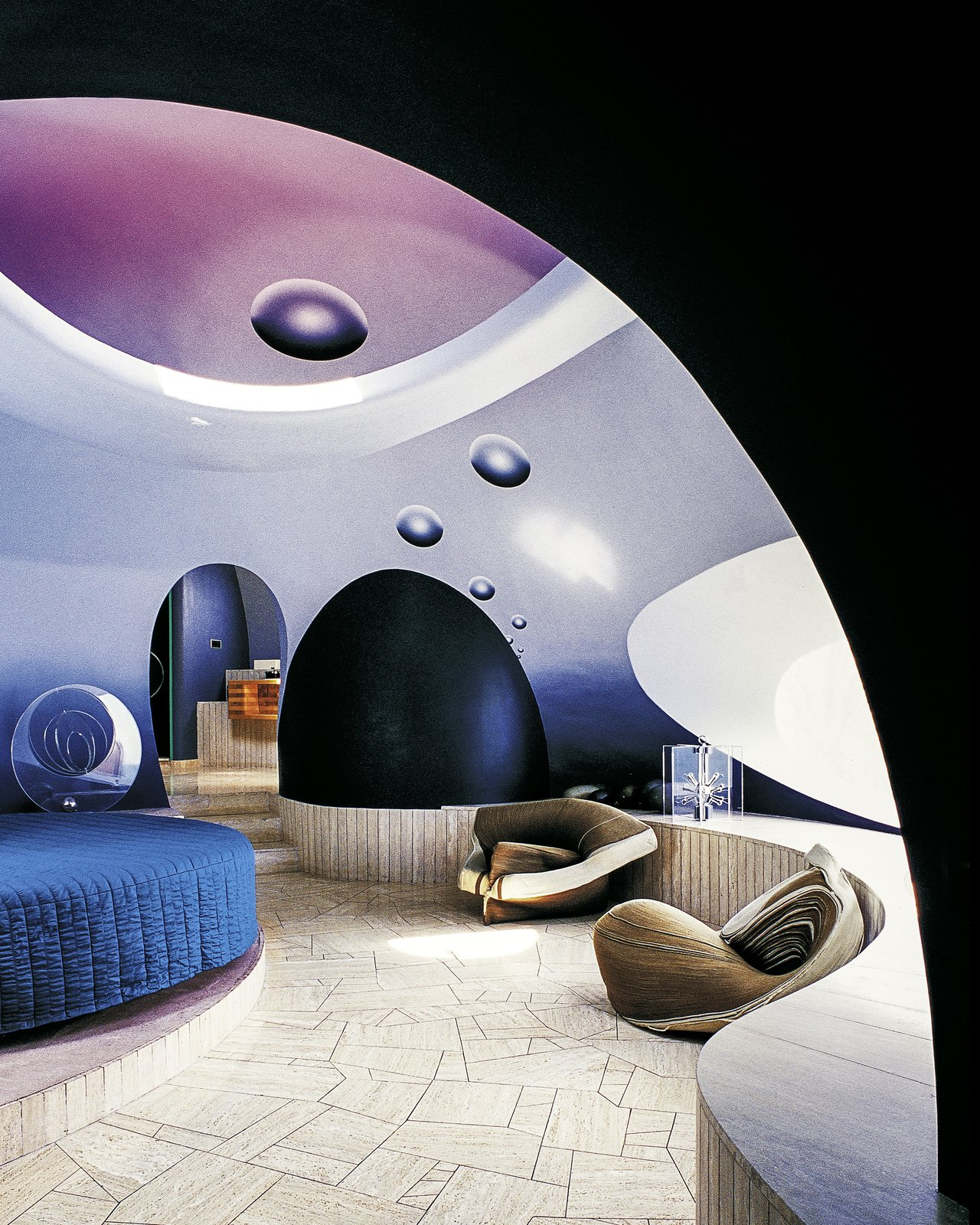 Palais Bulles, Théoule-sur-Mer, France - Antti Love, 1989  Photo 7 of 11 in A New Book Celebrates Modernism With Futuristic Homes and Visionary Masterpieces