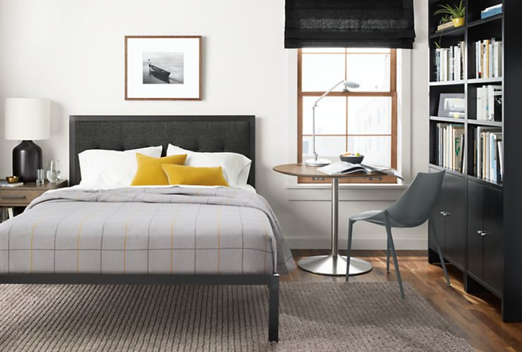 photo 9 of 9 in how to furnish a small space bedroom