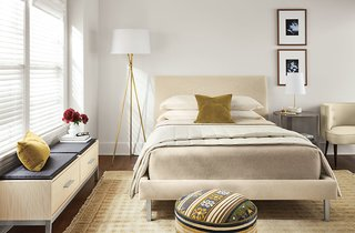 How to Furnish a Small-Space Bedroom - Photo 1 of 8 -