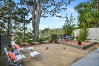 Check Out 2 Beautifully Renovated Eichlers For Sale in San Francisco - Photo 12 of 22 - The home has its very own bocce court in the backyard.