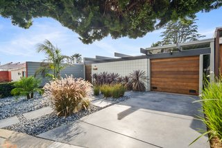 Check Out 2 Beautifully Renovated Eichlers For Sale in San Francisco - Photo 1 of 22 - With a street presence that's modest in scale, 1027 Duncan Street exemplifies the post-and-beam construction that's typically found in Eichlers.