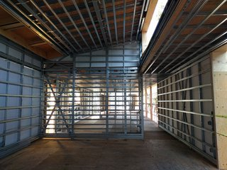 Dan Brunn Architecture and Dwell Break Ground on Bridge House in L.A. - Photo 5 of 6 - Using the BONE Structure system, no interior load bearing walls are required, offering complete freedom and customization inside.