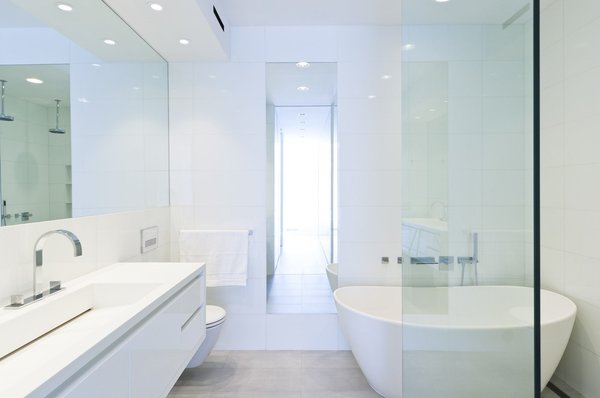 Resolution: 4 Architecture  Union Square Loft New York, NY  Master Bathroom  http://www.re4a.com/residential#/wadia-residence/ Photo 14 of Resolution: 4 Architecture - Union Square Loft modern home