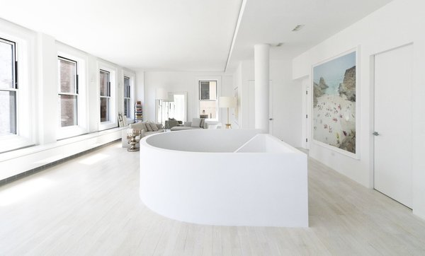 Resolution: 4 Architecture  Union Square Loft New York, NY  Upper Level Communal Space / Stair  http://www.re4a.com/residential#/wadia-residence/ Photo 18 of Resolution: 4 Architecture - Union Square Loft modern home