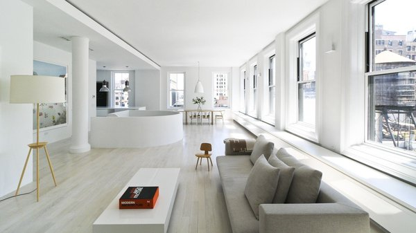 Resolution: 4 Architecture  Union Square Loft New York, NY  Living Room / Upper Communal Area  http://www.re4a.com/residential#/wadia-residence/ Photo  of Resolution: 4 Architecture - Union Square Loft modern home